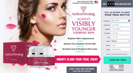 Active Firming Anti-Ageing Cream