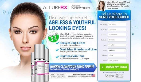 AllureRX Ageless Eye Revitalizer