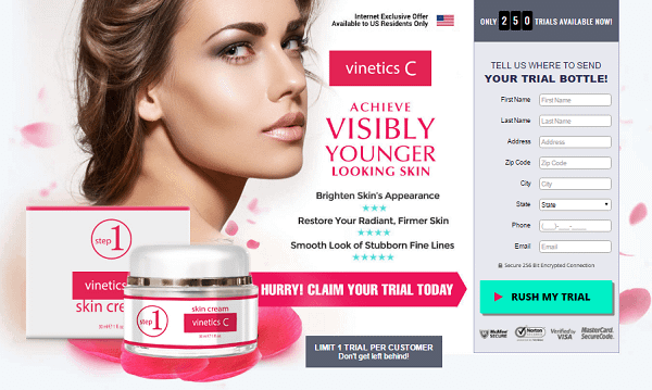 Vinetics C Skin Cream