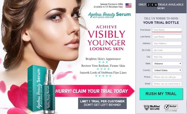 Ageless Beauty Serum