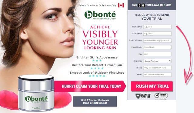 Bonte Advanced Wrinkle Cream