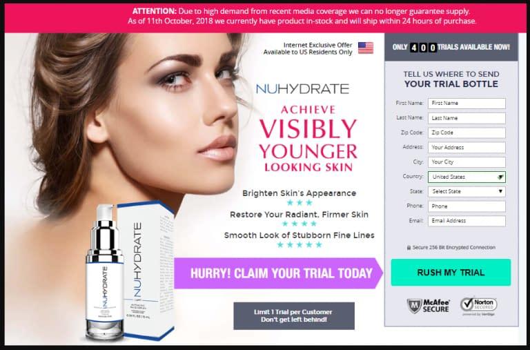 NuHydrate Anti Ageing Cream