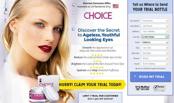 Choice Renewing Eye Cream